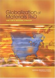 Cover of: Globalization of Materials R&D | Committee on Globalization of Materials Research and Development