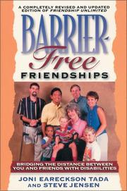Cover of: Barrier-free friendships: bridging the distance between you and friends with disabilities