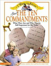 Cover of: About the Ten commandments | Rick Osborne