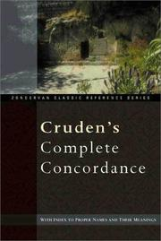 Cover of: Cruden's compact concordance