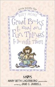 Cover of: Great books to read and fun things to do with them