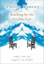 Cover of: Reaching for the Invisible God: what can we expect to find?