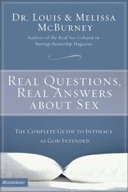 Cover of: Real Questions, Real Answers about Sex