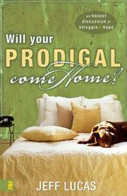 Cover of: Will Your Prodigal Come Home?