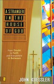Cover of: A Stranger in the House of God