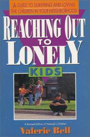 Cover of: Reaching out to lonely kids