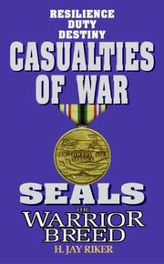 Cover of: Casualties of war