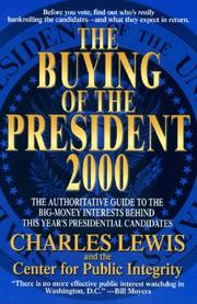 Cover of: The buying of the president 2000