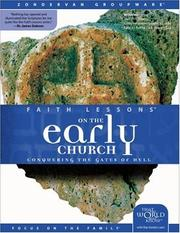 Cover of: Faith Lessons on the Early Church (Church Vol. 5)