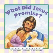 Cover of: What Did Jesus Promise Board Book