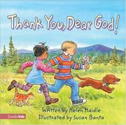 Cover of: Thank You, Dear God!
