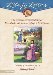 The personal correspondence of Abigail Mathews and Elizabeth Walton