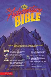 Cover of: Adventure Bible, Revised, NIV |