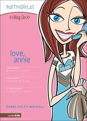 Cover of: Love, Annie
