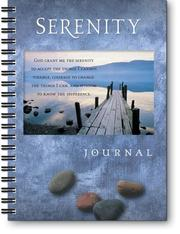 Cover of: Serenity Journal |