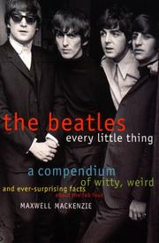 Cover of: Beatles: Every Little Thing