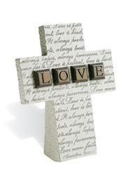 Cover of: LOVE Small Standing Resin Cross |