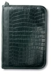 Cover of: Alligator Leather-Look Organizer Black LG |