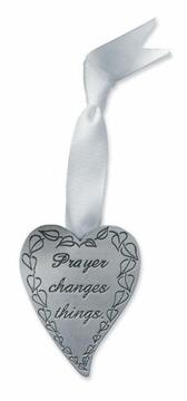 Cover of: Prayer Changes Things Mini Pewter Heart |