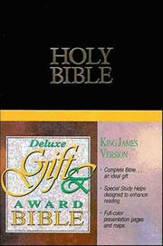 Cover of: KJV Deluxe Gift & Award Bible |