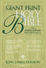 Cover of: KJV Holy Bible Giant Print Reference, Gold Edition, Indexed |