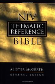 Cover of: NIV Thematic Reference Bible,The