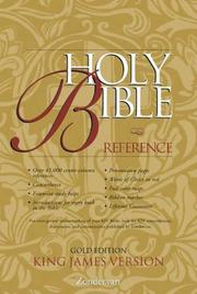 Cover of: KJV Holy Bible Reference, Gold Edition |