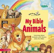 Cover of: My Bible animals