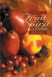 Cover of: NIV Fruit of the Spirit Bible, The