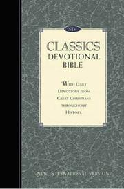 Cover of: New International Version Classics Devotional Bible |