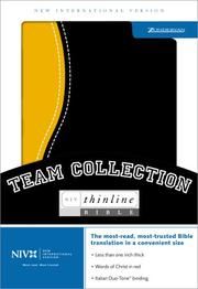 Cover of: NIV Thinline Team Collection |