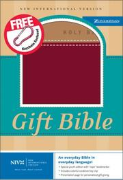 Cover of: NIV Gift Bible GM |