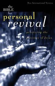 Cover of: The Bible for personal revival |