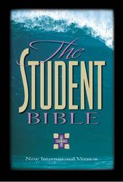 Cover of: NIV Student Bible Indexed