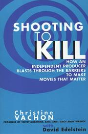 Cover of: Shooting to Kill | Christine Vachon