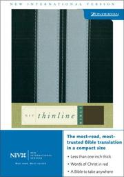 Cover of: NIV Compact Thinline Bible SEA |