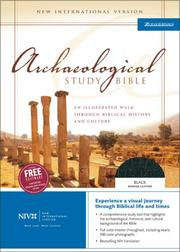 Cover of: Archaeological Study Bible |