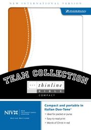 Cover of: NIV Compact Thinline Team Collection by