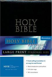 Cover of: NIV Large Print |