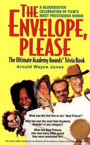 Cover of: The envelope, please | Arnold Wayne Jones