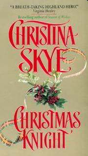 Cover of: Christmas Knight | Christina Skye