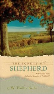 Cover of: Lord Is My Shepherd The