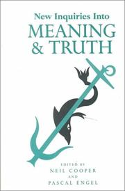 New inquiries into meaning and truth