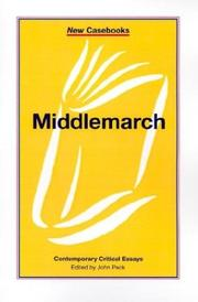 Cover of: Middlemarch