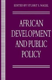 Cover of: Africa, Development and Public Policy