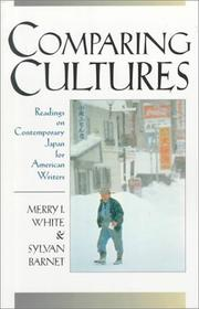 Cover of: Comparing cultures