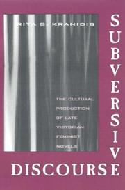 Cover of: Subversive discourse