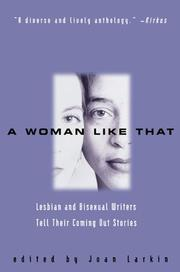 Cover of: A Woman Like That  | Joan Larkin