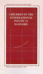 Cover of: Children in the international political economy