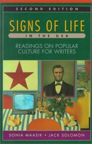 Cover of: Signs of life in the U.S.A. |
